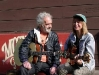 JJ Cale and Christine Lakeland visit the shop