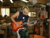 Marc Minarik of  Minarik Guitars  & Lily\'s Siren w/ his Custom Design