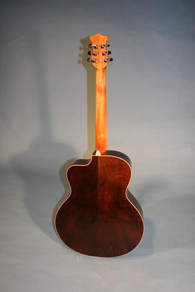 J 90 Venetian Cut Skull Moonstone Guitars