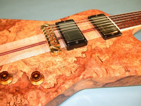 Spalted Maple Burl Exploder