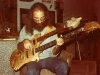 Leland Sklar with Doubleneck Eagle Bass 1978