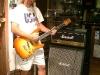 Jeff Jolly  w/ neck-through body Mooncaster