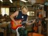 Marc Minarik of  Minarik Guitars  & Lily\'s Siren w/ his Custom Design