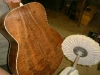 Buffing a Cured Koa J-90