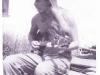 1975-Steve with early Earthaxe